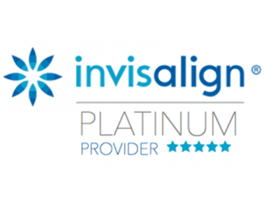 Official logo for Invisalign® Platinum Providers